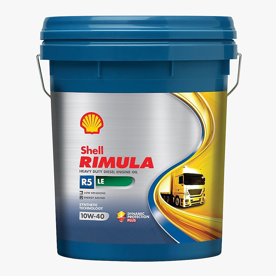 Heavy-duty diesel engine oil - Rimula R5 LE 10W 40