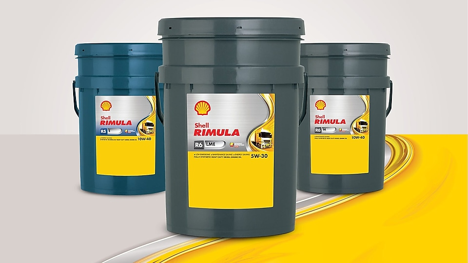 SHELL RIMULA TRUCK AND HEAVY-DUTY ENGINE OIL